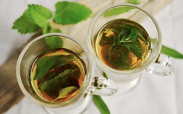 bylinky v čaji