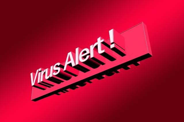 varování před virem