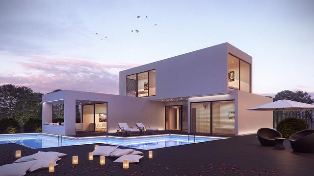patrový dům s bazénem